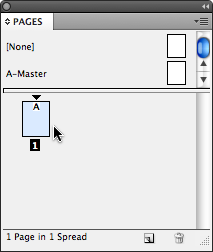 Pages panel