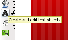 Select the Text Tool
