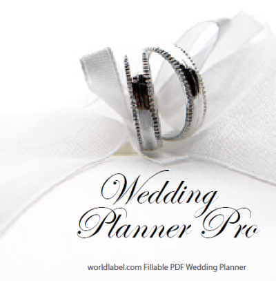 Diy free wedding planner pro fillable pdf worldlabel blog solutioingenieria