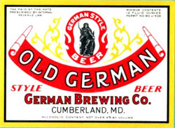 At its peak Queen City brewery produced over 250,000 barrels of beer and ale a year. This is a label from the 1930s.