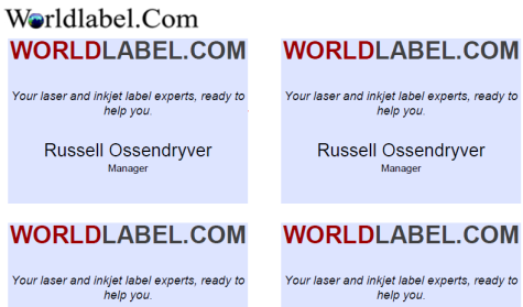 Name Badge Labels Easy And Template Worldlabel Blog - Name badge template
