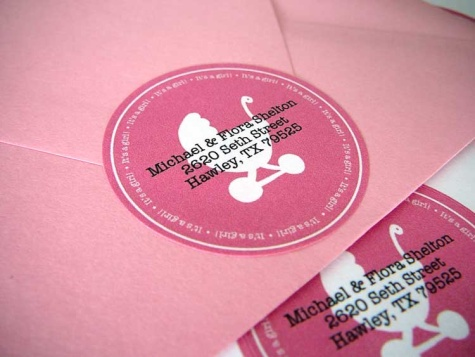Download ...  Free Baby Shower Label Templates