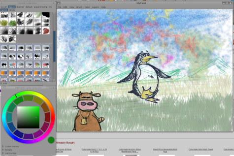 Open Source Painting With Mypaint Worldlabel Blog