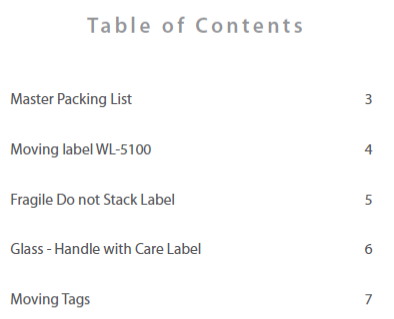 Moving Storage Labels Free Complete Template Kit Worldlabel Blog - Package label template