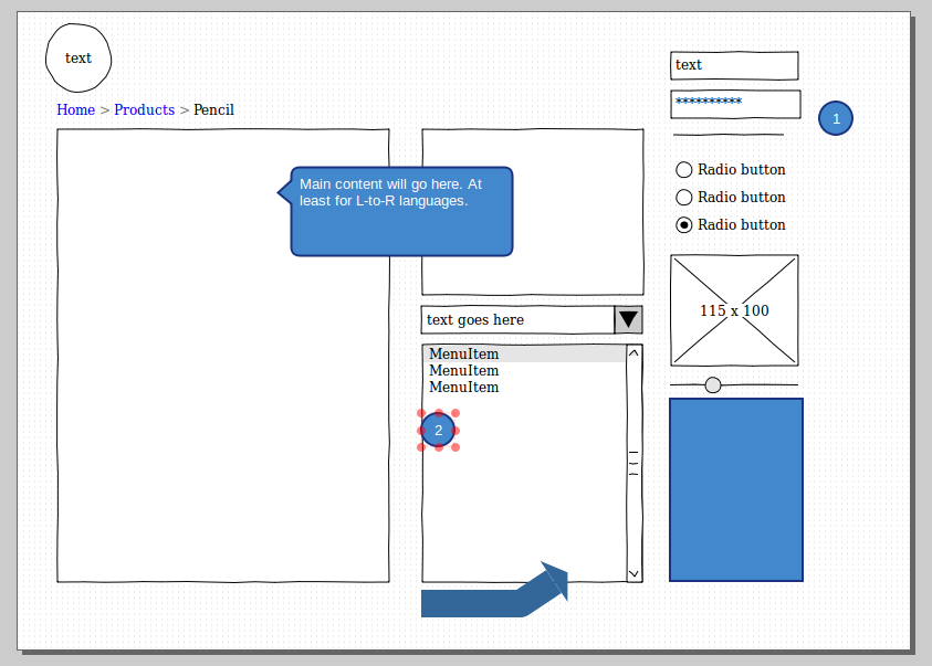 Prototyping with Pencil (FireFox add-on) | Worldlabel Blog