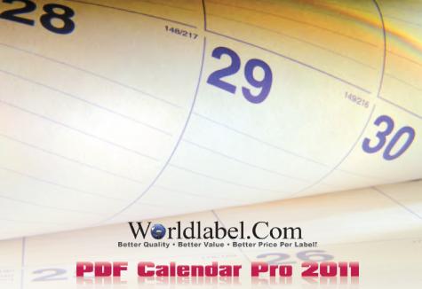 2011 Calendar Pro