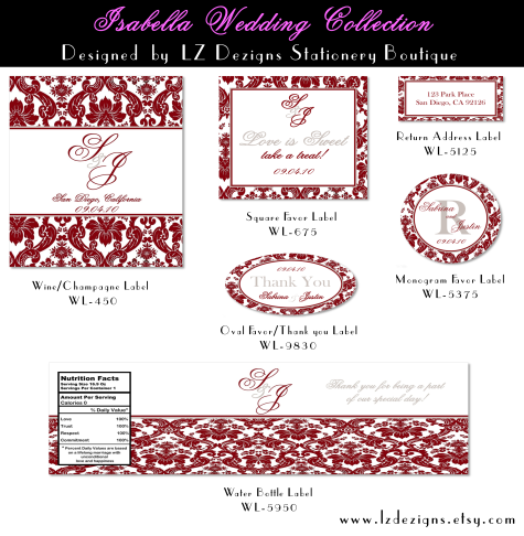 Isabella Cranberry-Silver