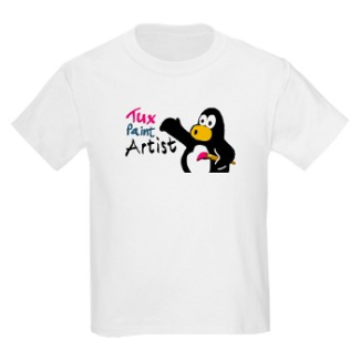 Tux Paint Artists T-Shirt