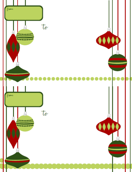 Holiday Labels – Holiday Label Templates Free Printable | Free