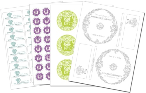 Wedding Label Templates | Worldlabel Blog