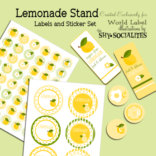 Lemonade Labels