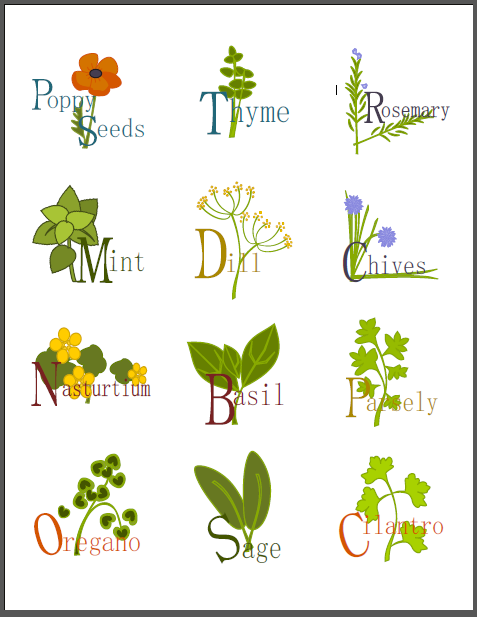 Labels for you Herb jars containers and more! : Worldlabel Blog