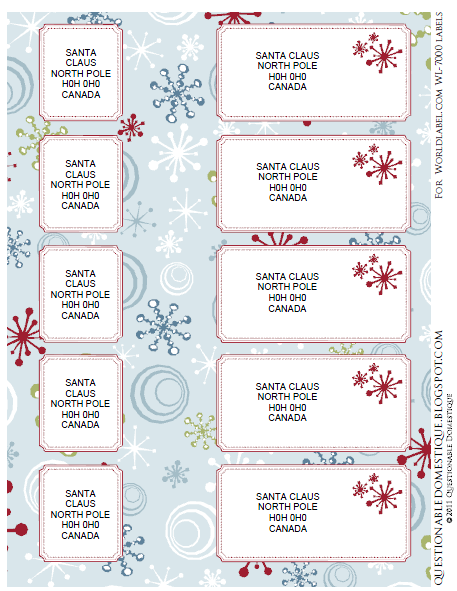 holiday labels  envelope wrap  u0026 tags by questionabledomestique com