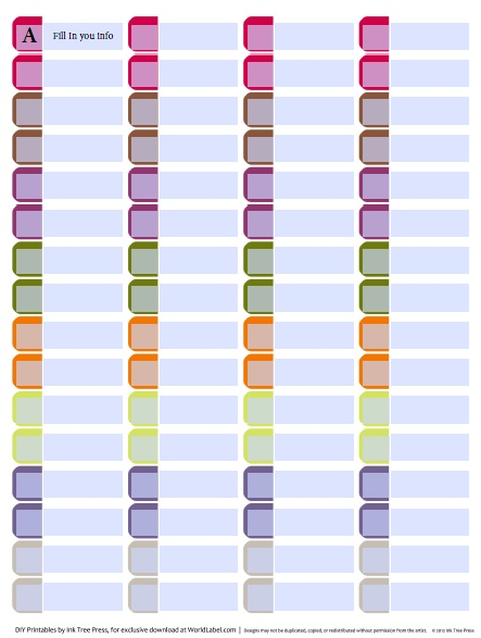 Template for file folder labels organization labels your file folders coupons binders and more maxwellsz