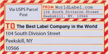 Shipping Label Templates Worldlabel Blog - Package mailing label template