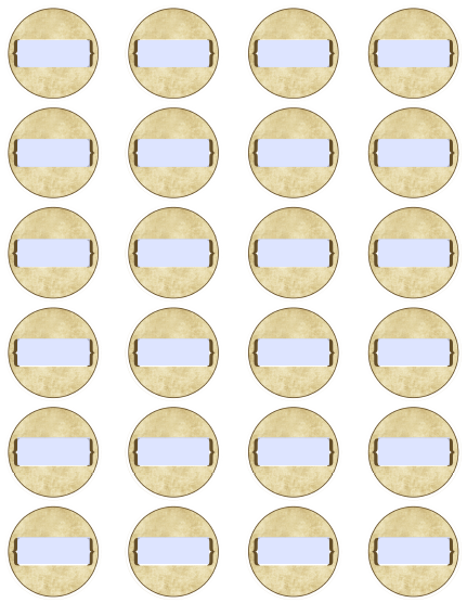 Round spice jar label template read more pronofoot35fo Gallery