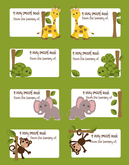 Kids Labels Jungle Gym Super Pack FREE Worldlabel Blog