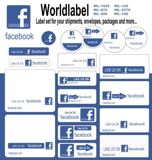 facebook labels and stickers for free worldlabel blog