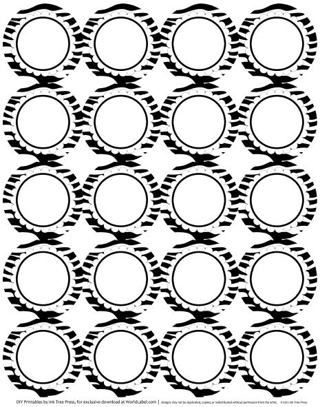 Labels with Wild Cat Prints & Zebra   Worldlabel Blog