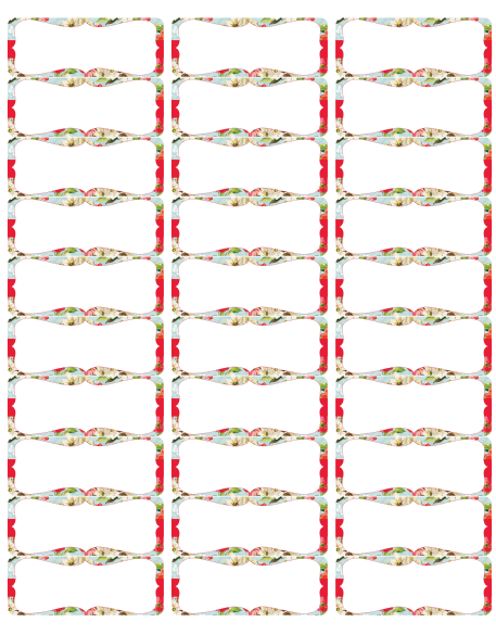 Christmas address labels free downloadable search results calendar 2015 for Address label clip art