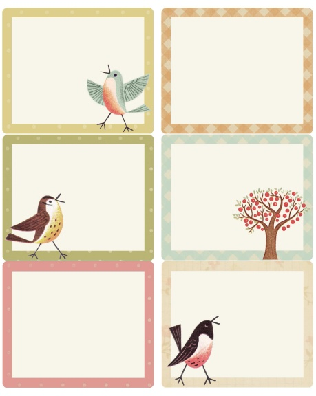sweet birds address  shipping  u0026 round labels