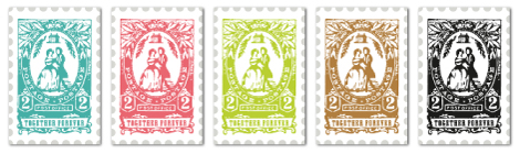 Wedding Postage Stamp Labels By Cathe Holden 14 Replies These