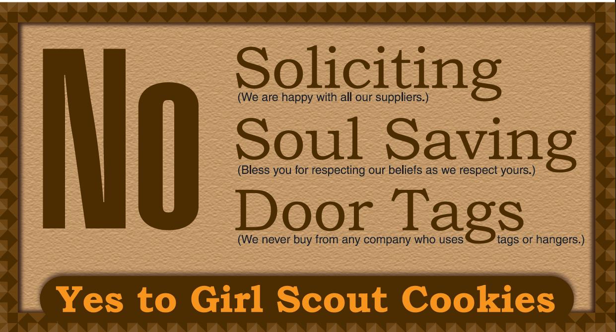 no soliciting door sign free printable worldlabel blog