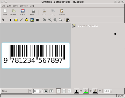 Working With Barcodes In Libreoffice Openoffice Org Free Printable Labels Templates Label Design Worldlabel Blog