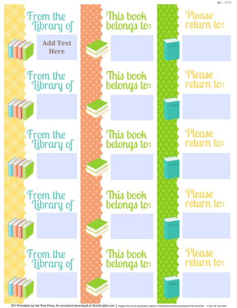 school days printables labels part 1 worldlabel blog