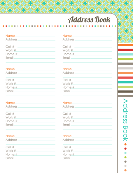 Organizing Planner: The Harmonized House Project | Free ...