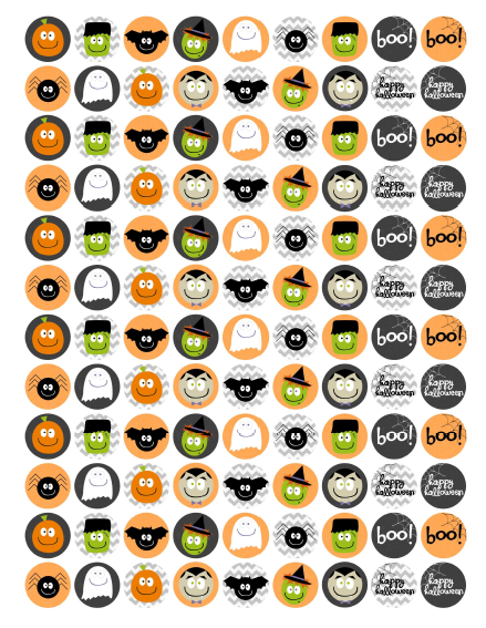 photo regarding Halloween Stickers Printable referred to as Cost-free Halloween Stickers / Labels Free of charge printable labels