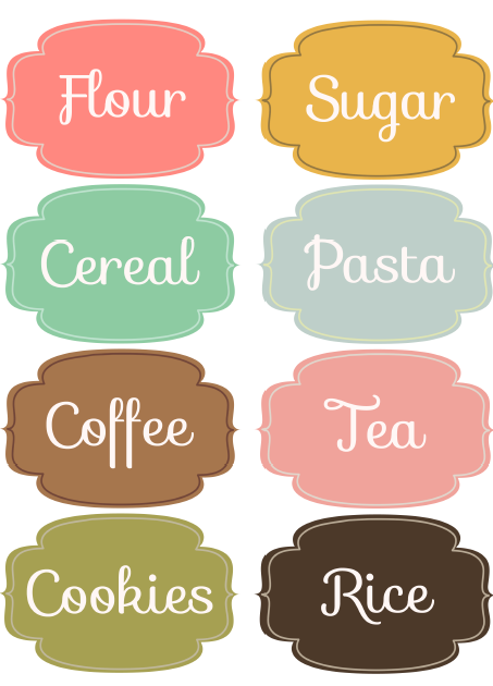 Bright image with regard to kitchen labels free printable