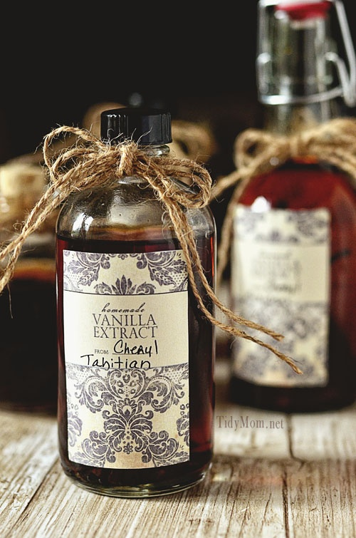 free homemade vanilla printable labels at livelaughrowe