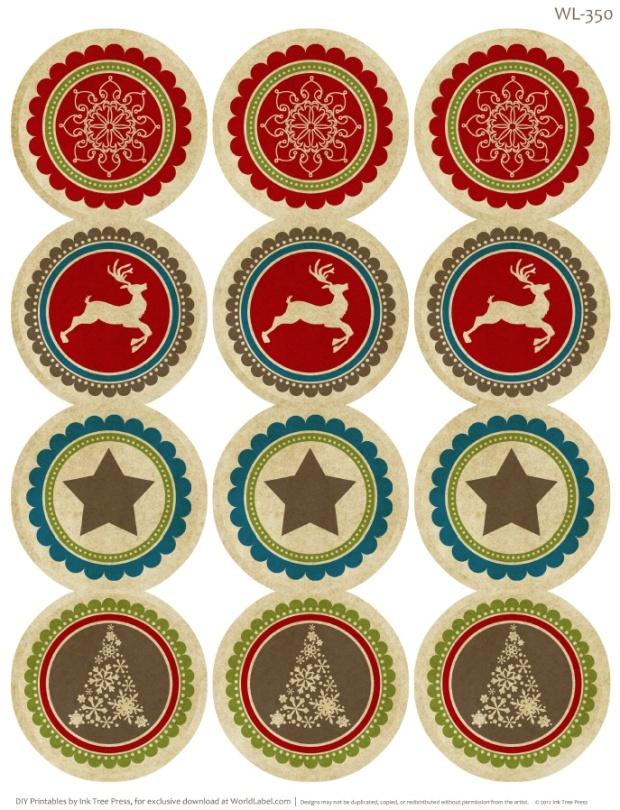 free christmas label templates new calendar template site