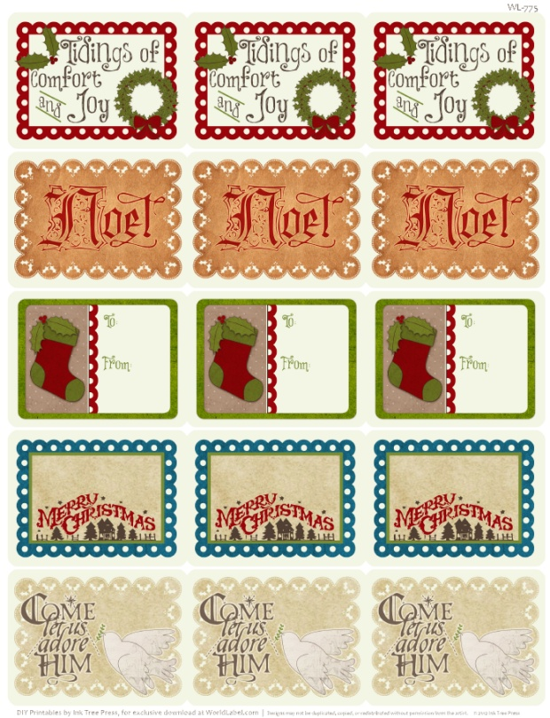 Avery 5160 Christmas Template from blog.worldlabel.com