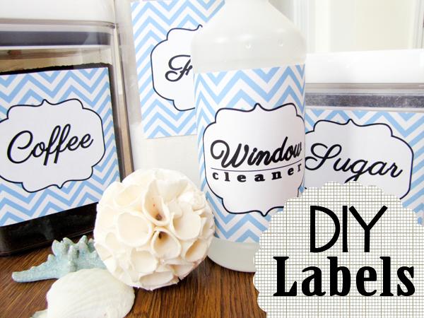 diy pantry  u0026 cleaning labels by newfashionedmom com
