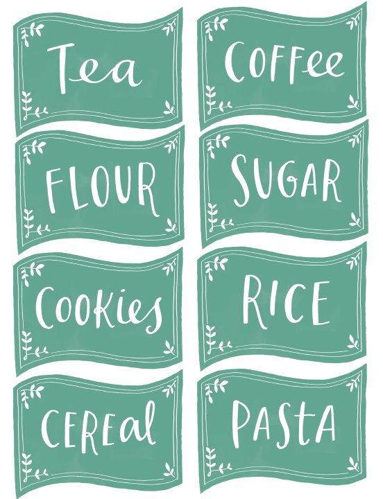 Kitchen, Spice Jar & Pantry Organizing Labels | Worldlabel Blog