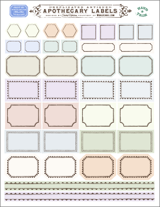 Printable Plain Labels Printable Free Printable Worksheets - Plain address labels template