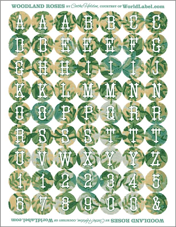 Cathe_Holden_WL_Woodland_Rose_Alphabet