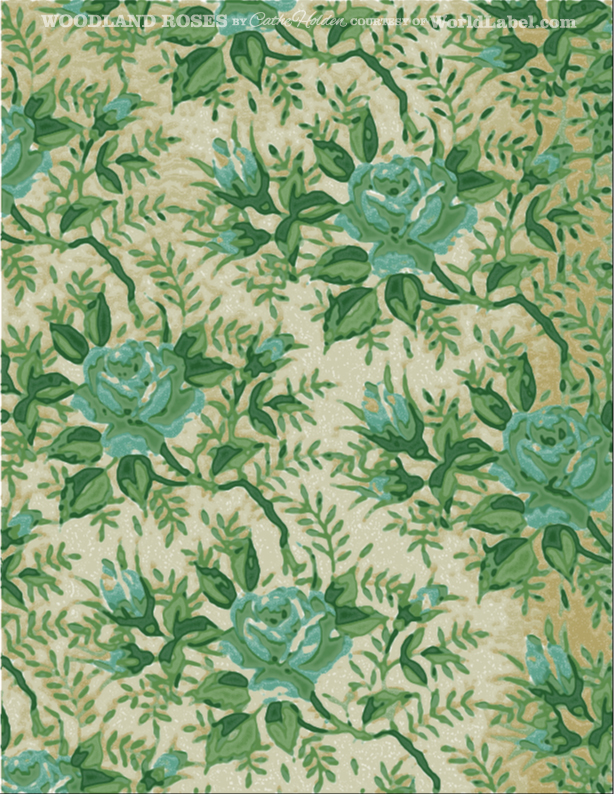 Cathe_Holden_WL_Woodland_Rose_Pattern