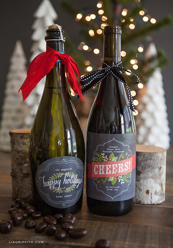 Chalkboard Style Christmas Labels for Gifts | Worldlabel Blog