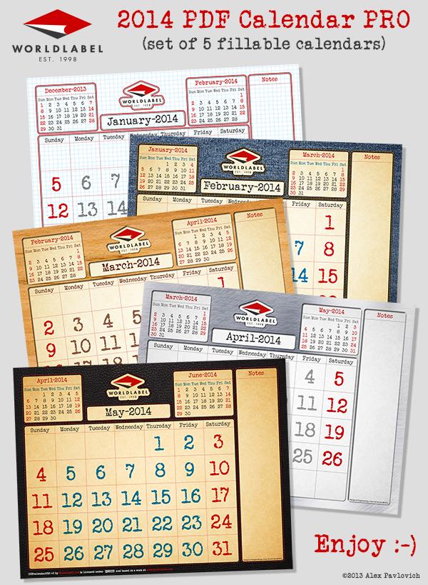 21-4 calendar