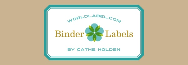 photo relating to Printable Binder Labels identify Binder Labels within just a typical topic through Cathe Holden Totally free