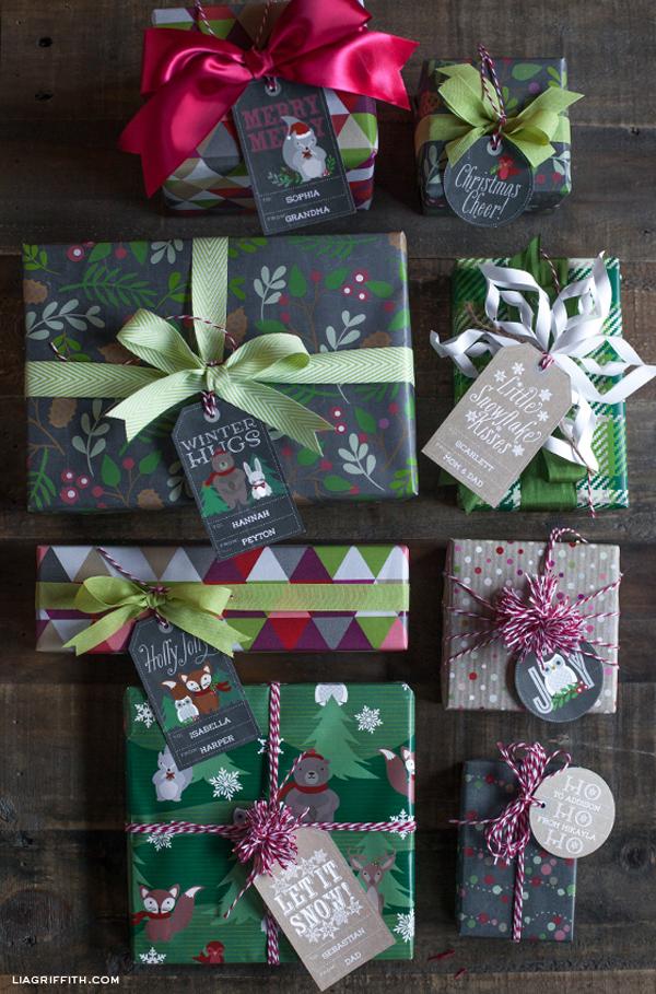 Woodland_Printable_Gift_Tags