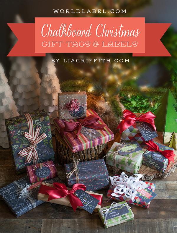 Worldlabel Christmas Labels