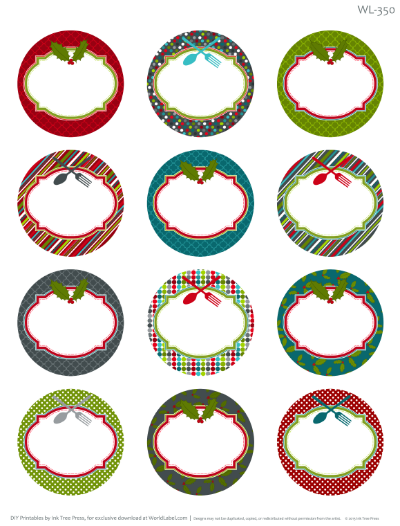 christmas-labels-round-350-blank