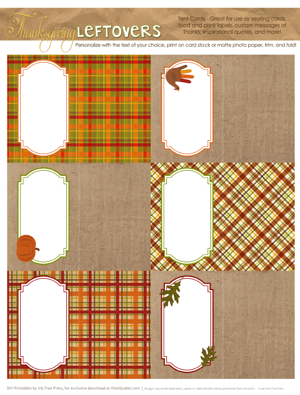 Free Labels For Thanksgiving Leftovers Amp Digital Papers
