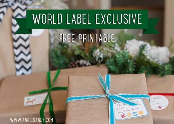 Christmas-labels for free