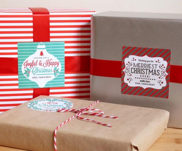 printable holiday gifts
