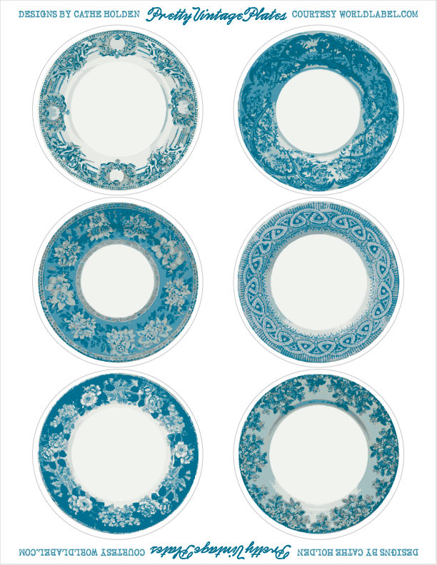 Bright image for printable plates